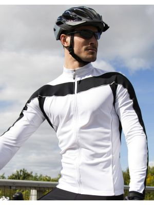 Attrezzature sportive result top manica lunga bikewear performance da personalizzare immagine 3