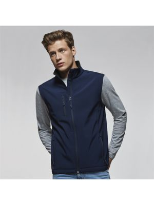 Gilet roly quebec poliestere stampato immagine 1
