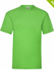 Magliette a manica corta fruit of the loom frs15001 lime green con logo immagine 1